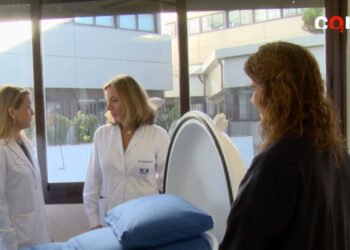 Cámara hiperbárica paciente diabético